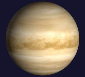 Il pianeta Venere. Credit: ESA
