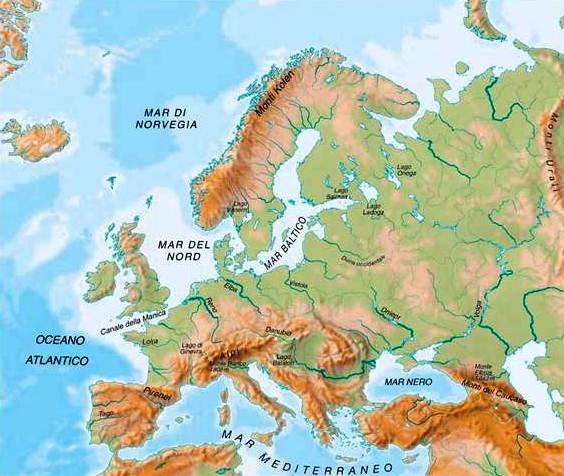 Laghi Europa Cartina.Il 63 Dell Habitat Di Laghi E Fiumi Europei Non Gode Di