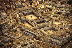 Cemento dell'antica roma