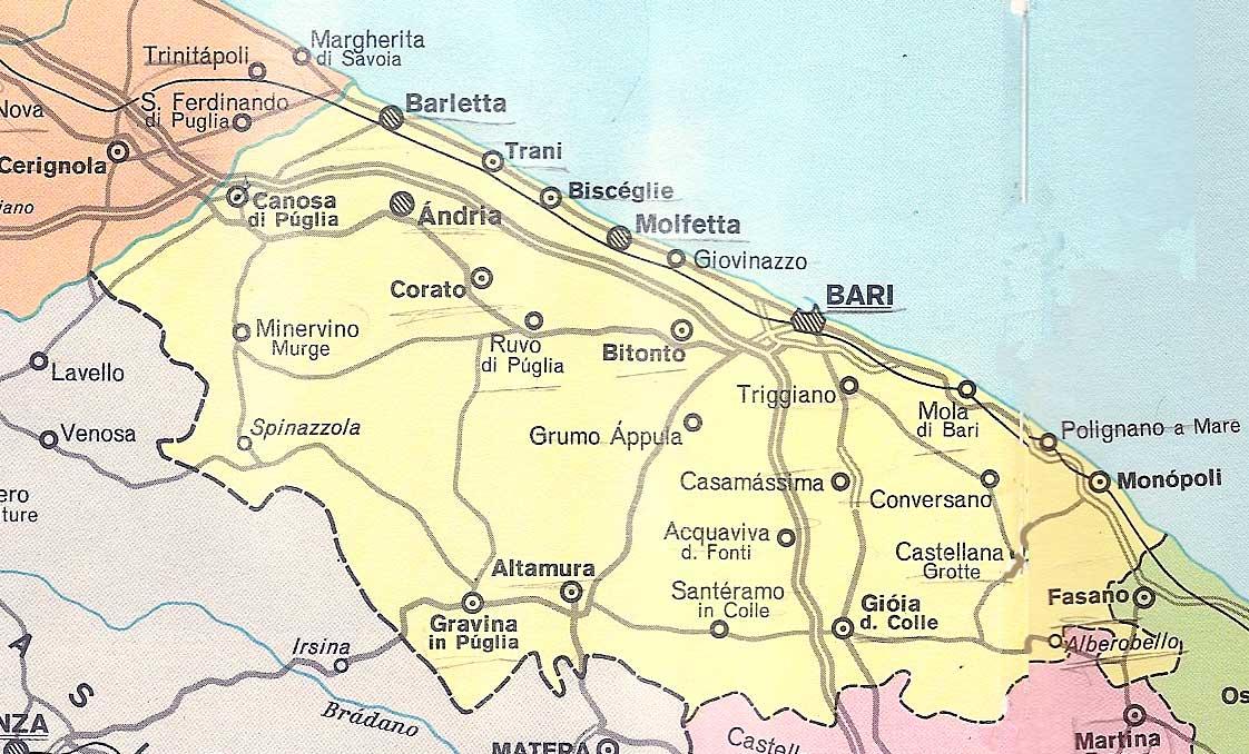 Cartina Puglia Altamura.Ecco Il Piano Neve Della Prefettura Di Bari Meteoweb