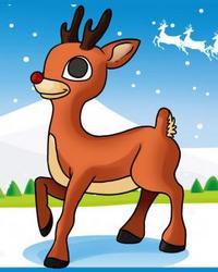 Renne Babbo Natale.Babbo Natale Scoperto Il Mistero Del Naso Rosso Della Renna Rudolph