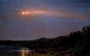 Dipinto di Frederic Church, Catskill, New York - Credit: J. F. Hernstadt
