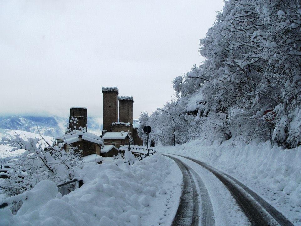 Abruzzo al gelo e sommerso di neve foto incredibili dall for Camera diretta