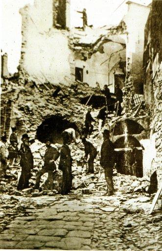 Bussana distrutta dal terremoto del 1887
