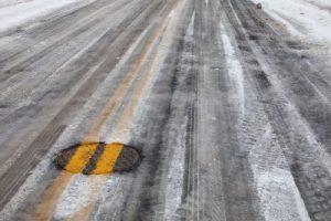 ghiaccio strade