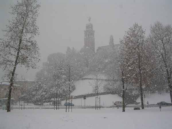 Neve a udine protezione civile mobilitata le foto for Lavoro a udine