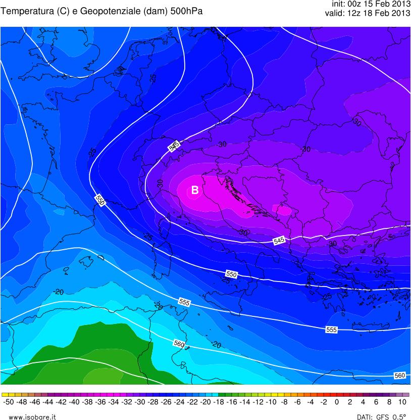 Previsioni meteo ancora freddo e neve a breve medio e lungo termine inverno protagonista assoluto - Previsioni mercato immobiliare lungo termine ...