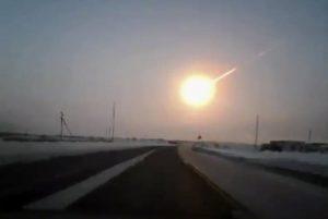La meteora nei cieli della Russia