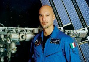 L'astronuta italiano Luca Parmitano