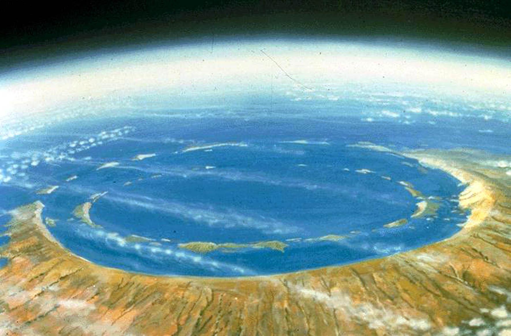 Yucatan Krater