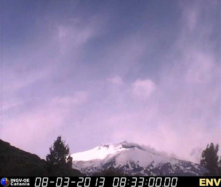 Etna emissioni di cenere vulcanica in corso da stamattina for Cenere vulcanica