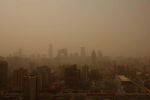 Giappone: tempesta di polvere colpisce Tokyo