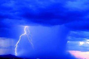 """I tipici temporali sull'Africa sub-sahariana prodotti dal soffio dell'umido """"Monsone di Guinea"""""""