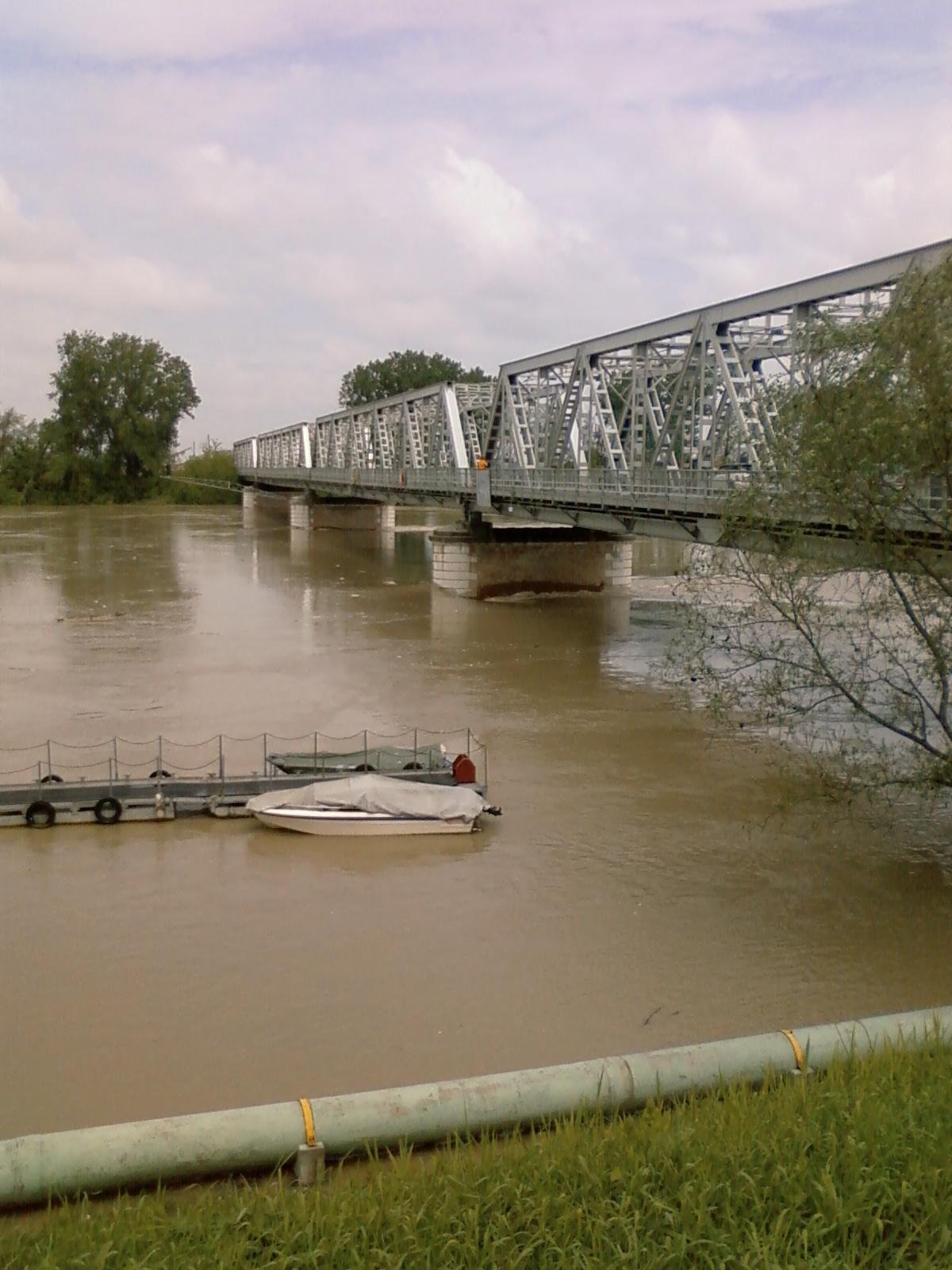 Del po transita nel delta del fiume ma sono attese altre forti piogge
