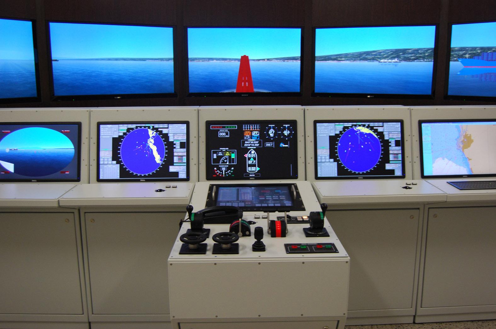 Inaugurato ad ancona il laboratorio di simulazione navale for Simulatore di costruzione di case online