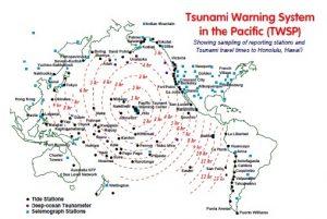 """Il servizio di allerta tsunami nel Pacifico, attivato dopo il grande tsunami del 1946, venne """"testato"""" per la prima volta nel 1960. Contribuì a salvare vite umane, anche se l'allarme non fu da tutti ascoltato, in particolare alle Hawaii. Oggi, dopo i disastri del 2004 e del 2011, il sistema risulta ancora più importante"""