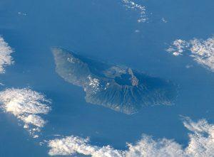 Il Cumbre Vieja osservato dallo spazio