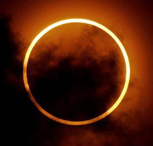 L'eclissi anulare di Sole