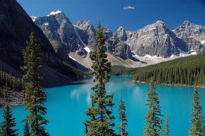 Tipico paesaggio incontaminato offerto dalle Montagne Rocciose