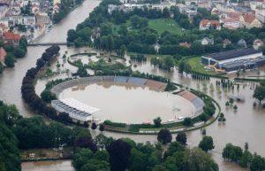 Hochwasser Thüringen - Gera