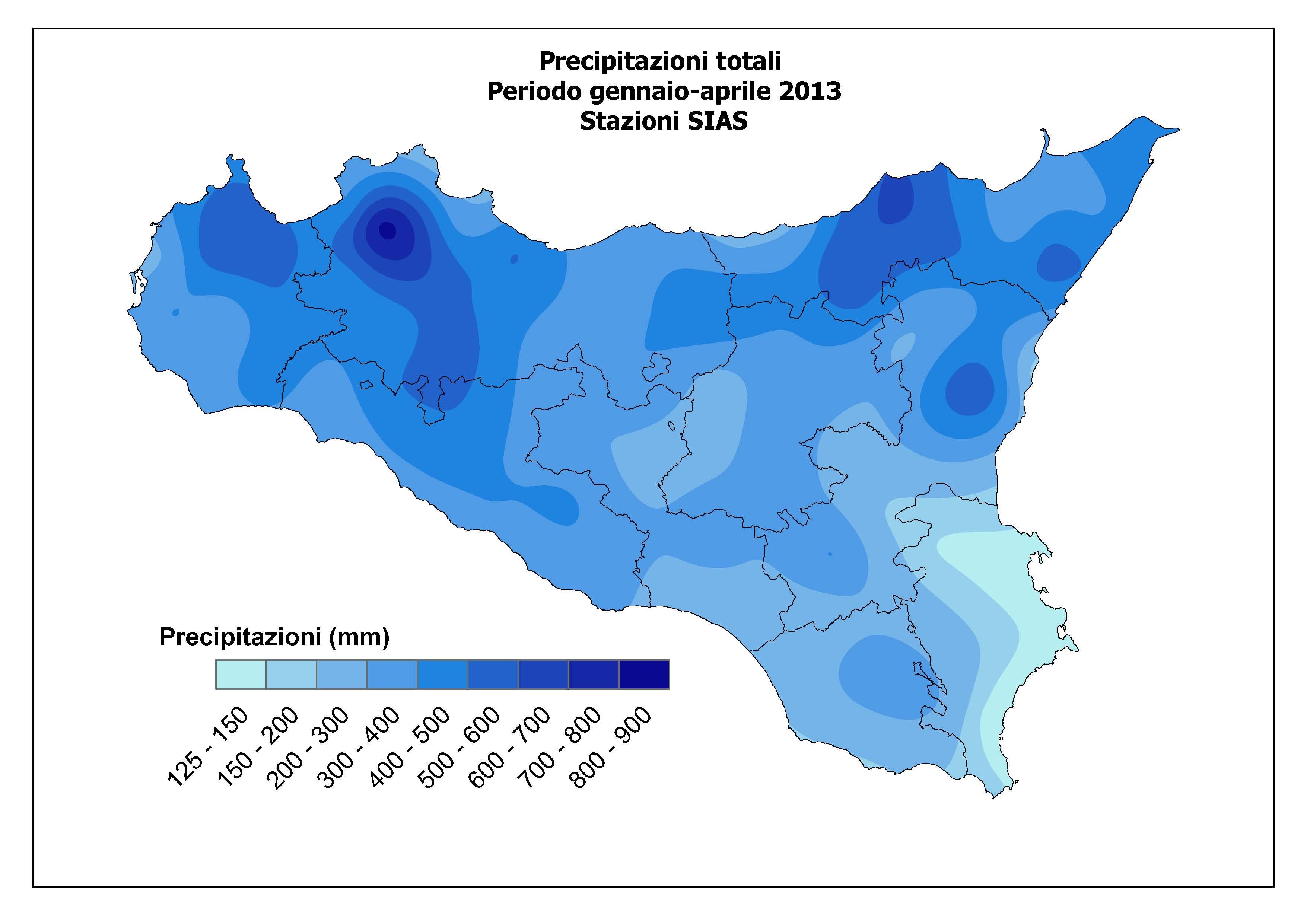 Cartina Sicilia Tematica.La Grande Siccita In Atto Nella Sicilia Orientale Mappe E Dati Meteoweb