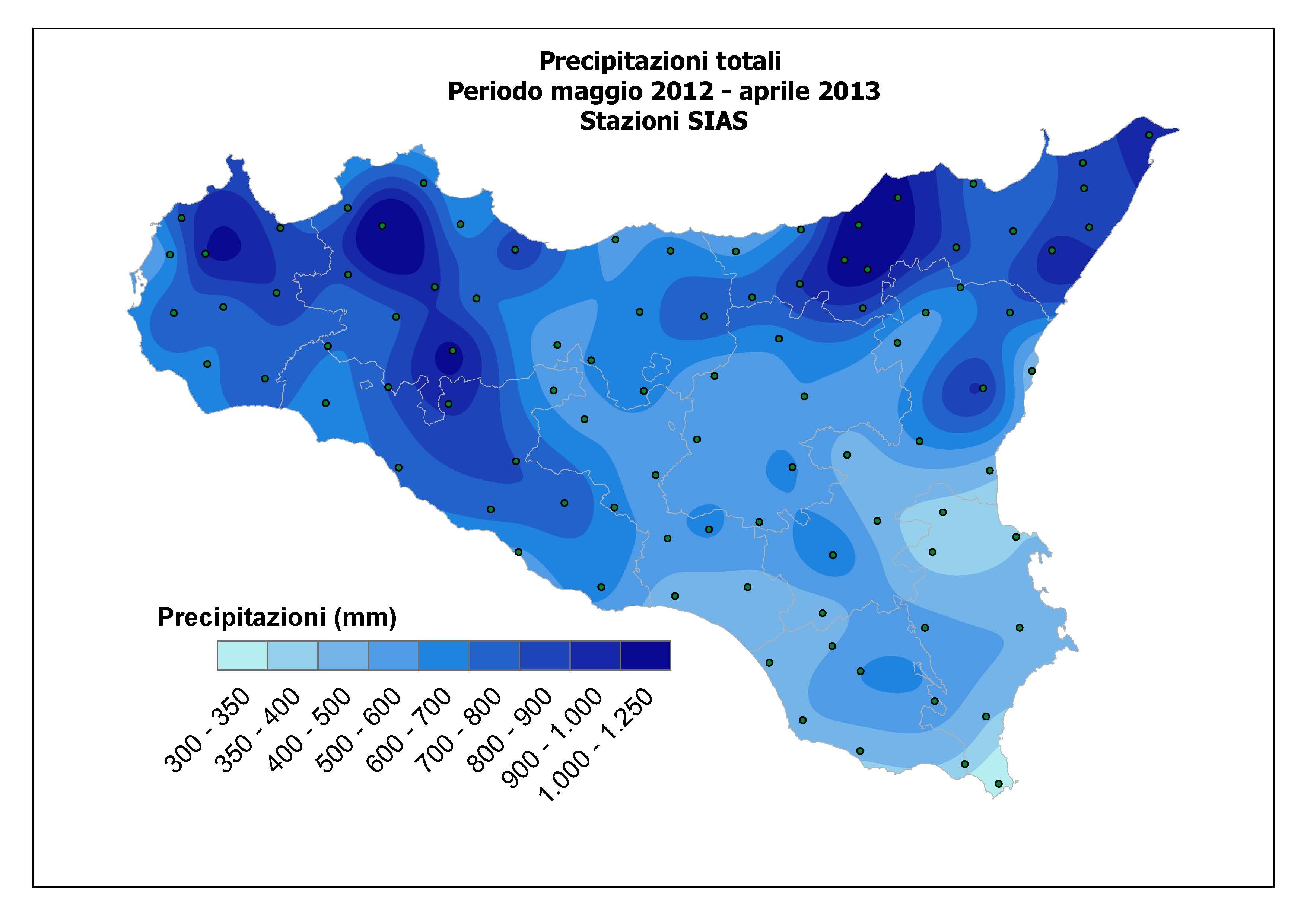 La grande siccit in atto nella sicilia orientale mappe e dati pmag apr2013 thecheapjerseys Images