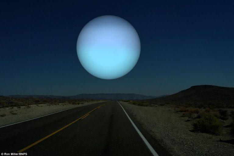 Urano avrebbe più meno le dimensioni di Nettuno