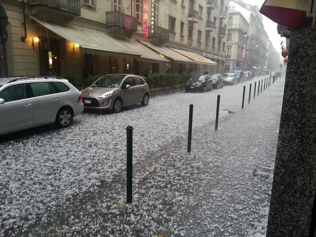 Torino si riprende dopo la bomba (d'acqua)