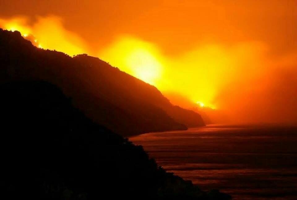 Emergenza incendi alle baleari continua a bruciare palma for Meteo palma di montechiaro