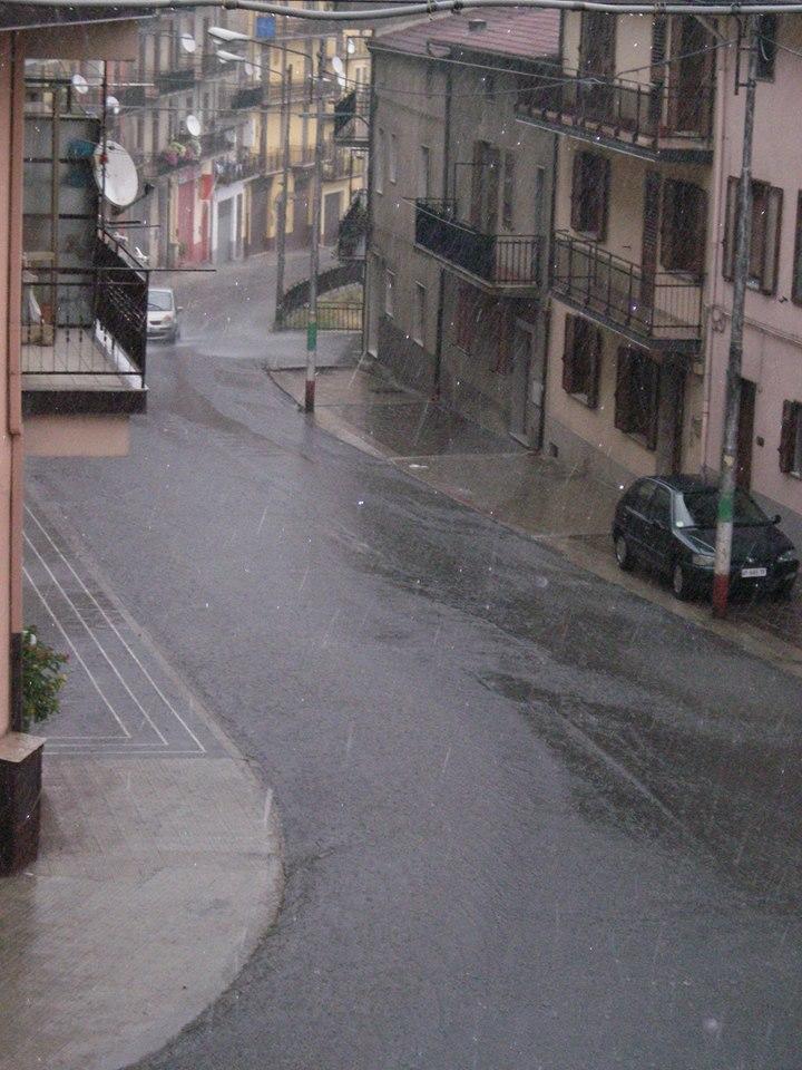 Maltempo in sila piogge torrenziali in provincia di for Meteo san giovanni in fiore