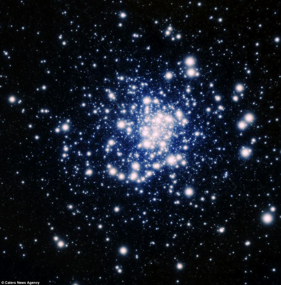 Spazio immagini spettacolari di galassie lontane milioni for Foto galassie hd