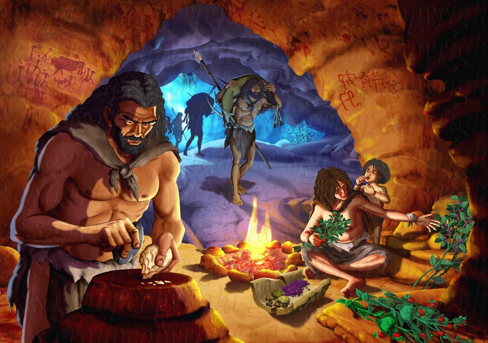 Salute per comprendere la genesi di molte malattie for Piani di caverna dell uomo