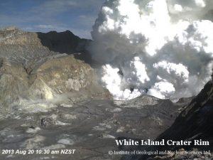 """White Island Crater Rim"""