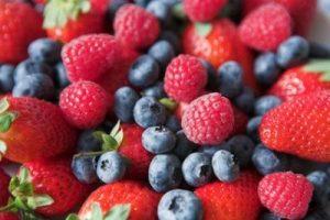 epatite A frutti di bosco