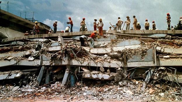 Risultati immagini per foto terremoto messico