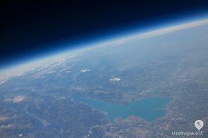 La terra dalla Stratosfera