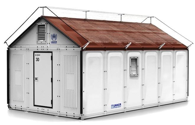 Refugee shelter la casa prefabbricata ed ecologica - Casa prefabbricata ikea ...