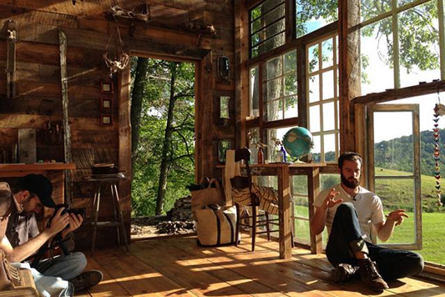 La casa di vetro di nick e lila uno spettacolare nido for Case in vetro