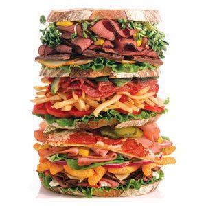 JUNK FOOD PANINO ENORME - Copia
