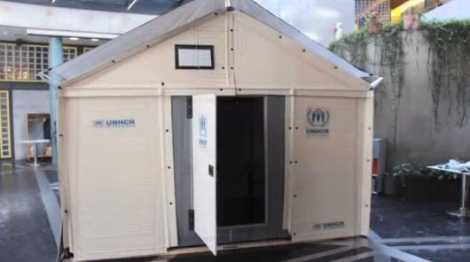 Refugee shelter la casa prefabbricata ed ecologica for Case prefabbricate ikea
