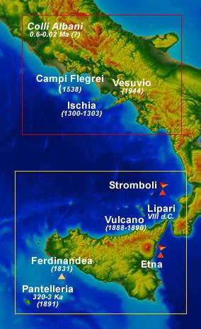 Cartina Vulcani Nel Mondo.Vulcani Attivi In Italia Quali Sono E Quanti Sono Uno Sguardo Di Insieme Meteoweb