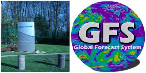 ECMWF (Reading, UK) e GFS (Boulder, CO, USA), i due più autorevoli modelli meteorologici previsionali a scala globale