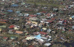 Foto aeree tifone Haiyan - Filippine
