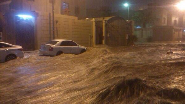 Arabia saudita forte inondazione colpisce la capitale foto for La capitale dell arabia saudita