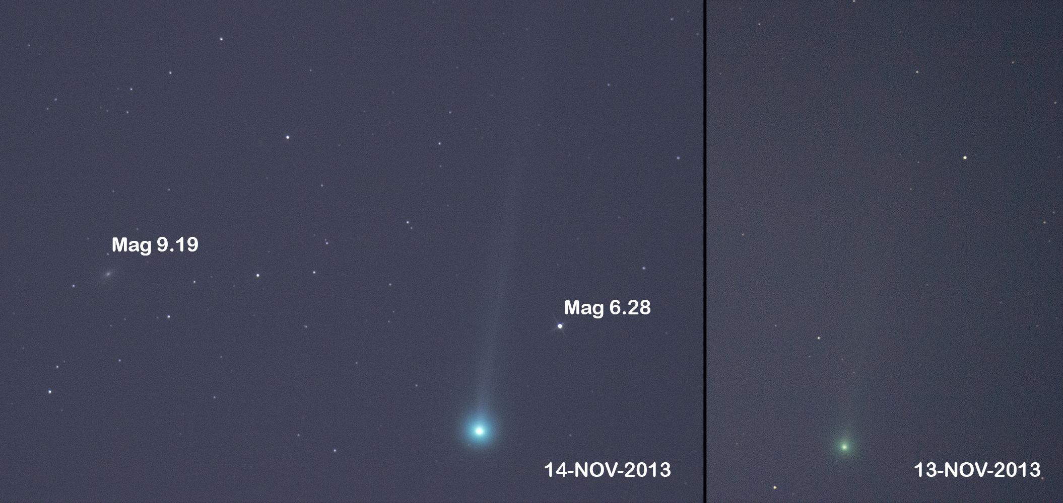 Cometa ISON, improvviso aumento di luminosità: comincia il folle giro intorno al Sole
