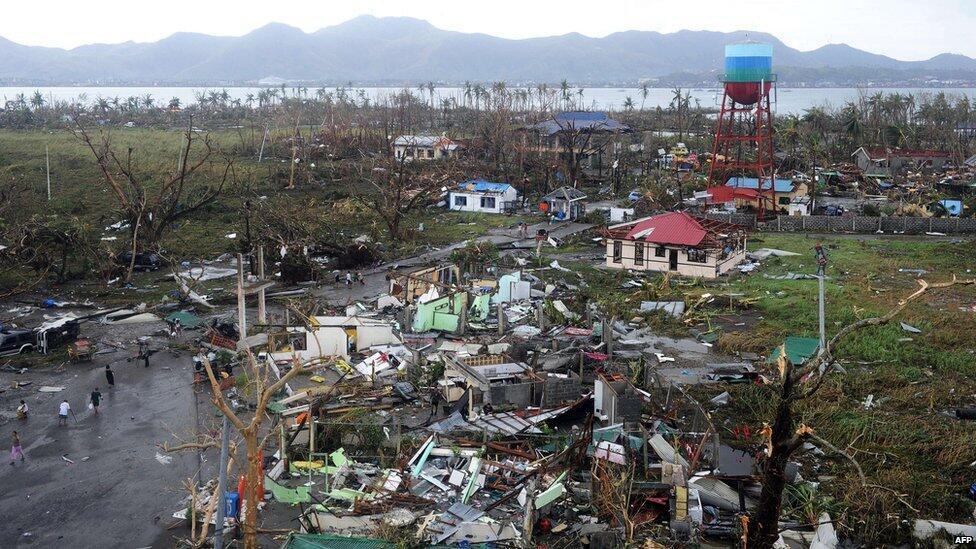 Tifone Haiyan, catastrofe nelle Filippine: distrutta la