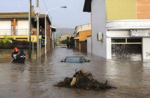 Ciclone Cleopatra si abbatte sulla Sardegna