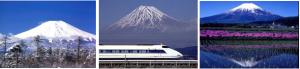 Fig.6 - Alcune immagini suggestive del Monte Fuji