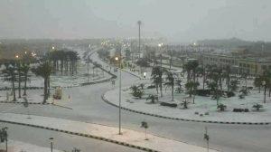il cairo neve 13 dicembre 2013