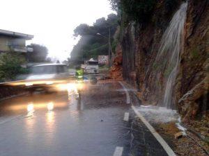 Maltempo:Ancora frane in Liguria,chiusa Aurelia a Bordighera